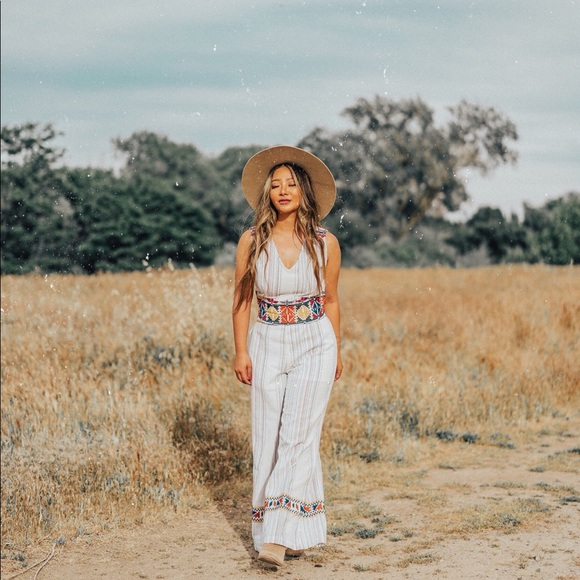 Anthropologie Other - Anthropologie Laia Label Boho Jumpsuit XS